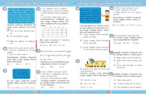 3.Sınıf Sıfat Test 1