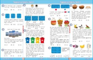 2.sınıf doğal sayılarda toplama